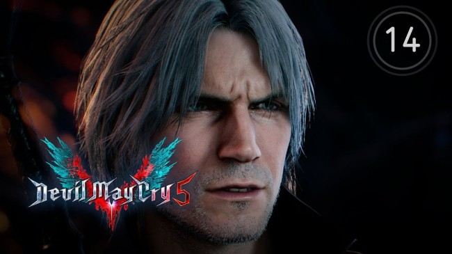 Данте против вожака церберов ? Devil May Cry 5 #14