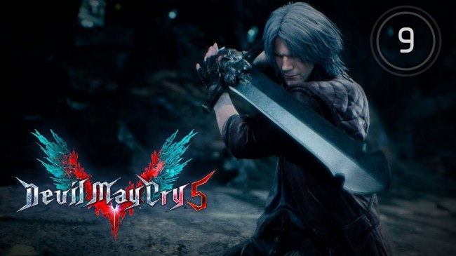 Куда делся Данте после боя вначале ? Devil May Cry 5 #9